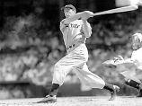 Schweigsame Baseball-Legende: Joe DiMaggio lebte, wie er liebte