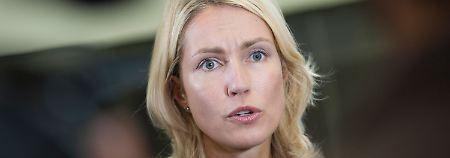 Familien- und Frauenministerin Schwesig wurde zu einer Wortführerin in Sachen Frauenquote.