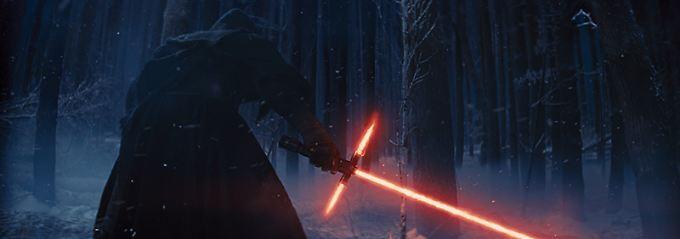 Die dunkle Seite der Macht erhebt sich wieder - das Laserschwert