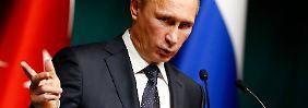 """Pressestimmen: """"Eine neue Phase in Putins Machtpoker"""""""