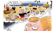 Geheime Gesprächsprotokolle 2014: Durch das Jahr mit Angela