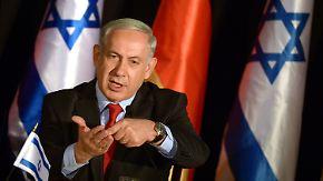 Paris will Palästina anerkennen: Netanjahu schwört Israel auf Neuwahlen ein