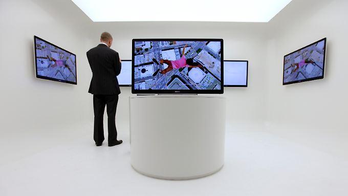 Stars der Funkausstellung: IFA präsentiert Zukunft des Fernsehens
