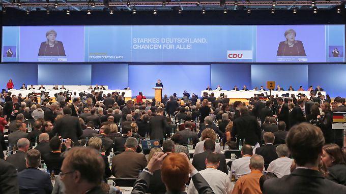 Frontalunterricht - wie 2012 Hannover - wird es in Köln nicht geben. Jubel für Angela Merkel dagegen voraussichtlich schon.
