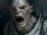 Grimmig: Azog (Manu Bennett) ist der Todfeind der Zwerge.