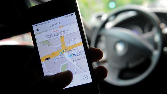 Die 2009 in San Francisco in den USA gegründete Firma Uber wächst derzeit im großen Stil.