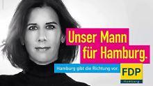 Irritierende Wahlplakate in Hamburg: FDP-Frau Suding spielt mit ihrem Geschlecht