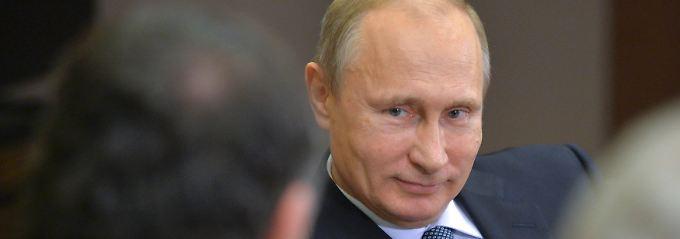 Taktiert ganz gern mal ein bisschen: Russlands Präsident Putin.