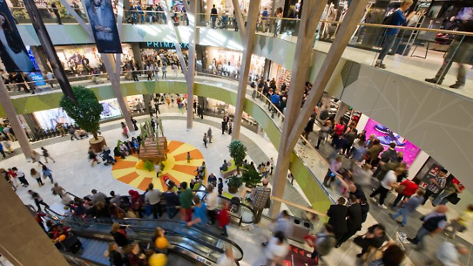 Das Stuttgarter Milaneo: Das Shopping-Center liefert Einkäufe nach Hause.
