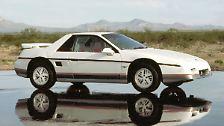 ... der rare Kunststoffkeil Pontiac Fiero GT 2.8 V6, ...