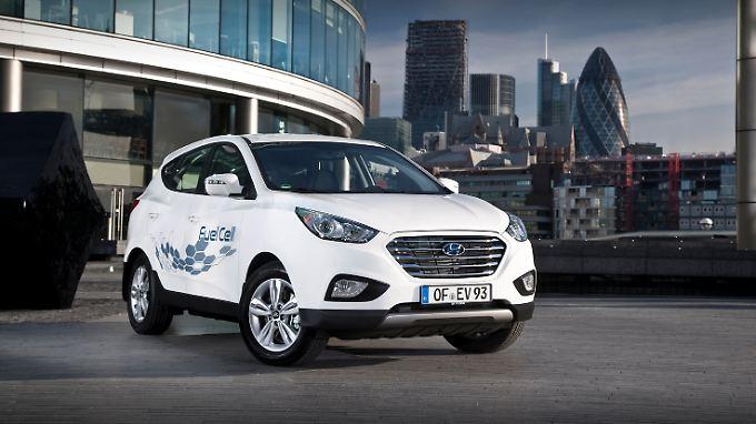 Für 65.000 Euro kann der ix35 Fuell Cell gekauft werden.