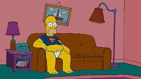 """Nicht nur in der Fernsehserie, auch im Kinofilm """"Die Simpsons - Der Film"""" wurde Homer von Gastell gesprochen."""