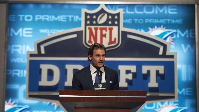 Der Draft Day ist in der NFL neben dem Superbowl-Tag der wichtigste der Saison.