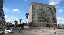Diese Gebäude in Havanna könnte demnächst die US-Botschaft beherbergen.