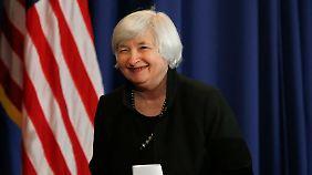 Die Fed will die Zinswende geduldig angehen.