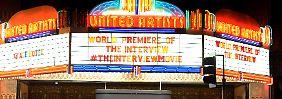 """Drohung gegen Vorführung: Sony sagt Start von """"The Interview"""" ab"""