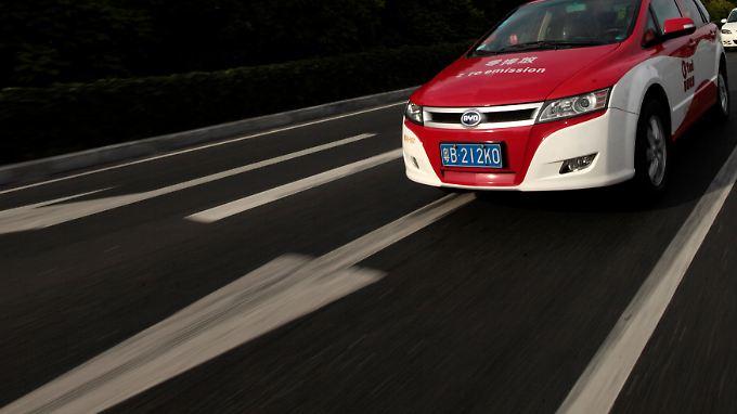 BYD stellt in China etwa den E6 her, der dort unter anderem als Taxi genutzt wird