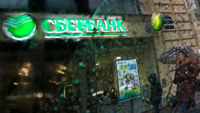 Die Sberbank geht wohl leer aus.