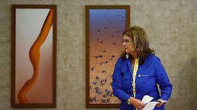 Petrobras-Chefin Maria das Gracas Silva Foster.