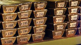 Der Schatz der Bundesbank ist rund 105 Milliarden Euro wert.