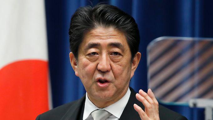 Shinzo Abe hat erst kürzlich die Parlamentswahl für sich entschieden.