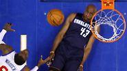 Haltung bewahren: NBA-Profi Anthony Tolliver von den Charlotte Bobcats gelingt das virtuos.