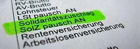 Einigung noch 2015?: Länder-Chefs streiten über Zukunft des Soli