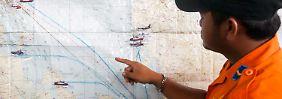 Suche nach Flug QZ8501 fortgesetzt: Behörden vermuten vermisstes Air-Asia-Flugzeug im Meer