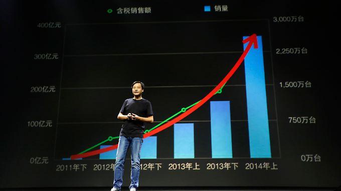 Cooler Look, erfolgreiches Unternehmen: Xiaomi-Gründer Lei Jun.
