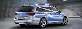Lautlose Verbrecherjagd: VW Passat geht elektrisch auf Streife
