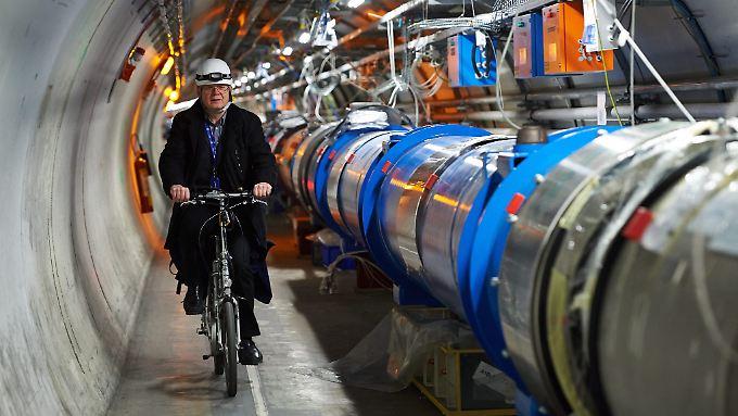 Der Teilchenbeschleuniger der Cern wird 2015 wieder hochgefahren.