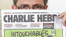 """Postumes Werk von """"Charlie Hebdo"""": Ermordeter Satiriker maßregelte Medien"""