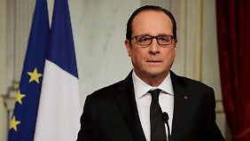 Rede an die Nation: Hollande ruft nationalen Trauertag aus