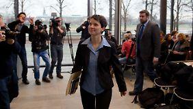 Frauke Petry sieht Schnittmengen zwischen AfD und Pegida.