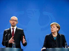 Ringen um sichtbare Fortschritte zur Lösung der Ukraine-Krise.