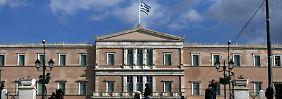 """Athen im Januar 2015: """"Ein Schuldenschnitt in Griechenland ist unausweichlich""""."""
