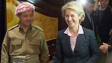 Von der Leyens Stippvisite im Irak: Peschmerga brauchen mehr deutsche Waffen