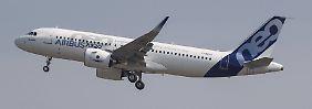 Sehr begehrt: Flugzeuge der A320-Familie von Airbus.