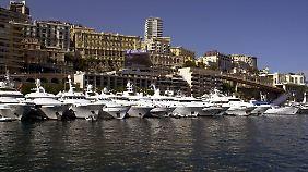 Monaco verdankt sein Image als Jetset-Himmel auch der großzügigen Steuerpolitik.