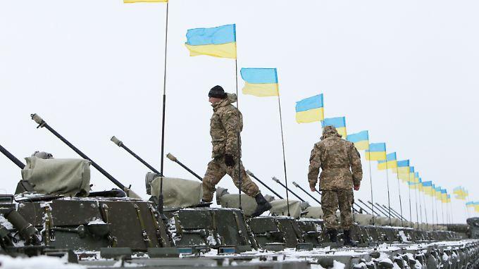 50.000 Soldaten will die ukrainische Armee allein im Januar einziehen. Weitere sollen danach folgen.