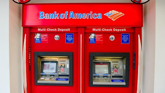 Die Bank of America hat ihr Filialnetz eingedampft, um Kosten zu sparen.