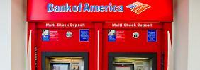 Düsteres Quartal: Bank of America  und Citigroup enttäuschen