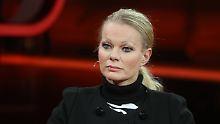 Kathrin Oertel in der ARD.