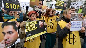 Bestrafung in Saudi-Arabien: Auspeitschung von Blogger Badawi erreicht deutsche Politik
