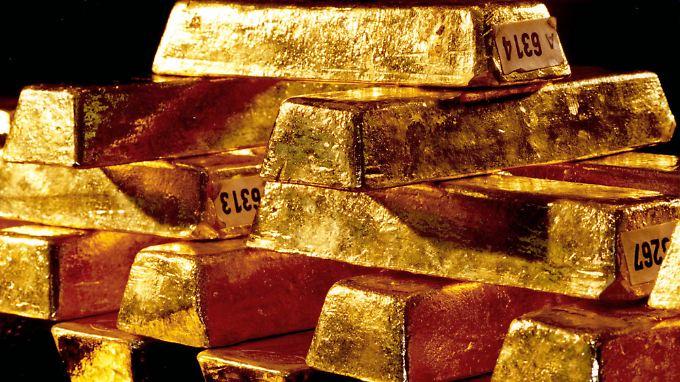 Die Goldvorräte im Ausland haben sich in den 1950er- und 60er-Jahren gebildet.
