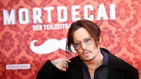 Promi-News des Tages: Johnny Depp liefert in Berlin schräge Vorstellung ab