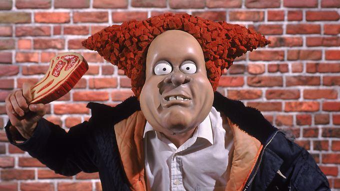 """""""Angry Kid"""" verkörpert den dummen Rüpel in den Abenteuern von """"Wallace und Gromit""""."""