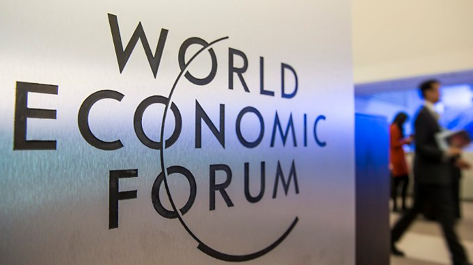 In Davos beginnt das 45. Weltwirtschaftsforum, zu dem mehr als 2500 Spitzenvertreter aus Politik und Wirtschaft erwartet werden.