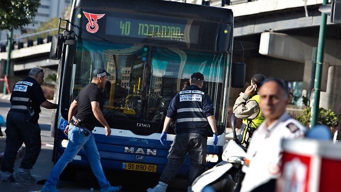 Der Attentäter griff im morgendlichen Berufsverkehr an.