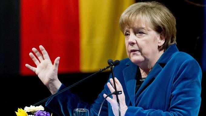 Streit in der Koalition: Merkel hält Änderungen beim Mindestlohn für möglich